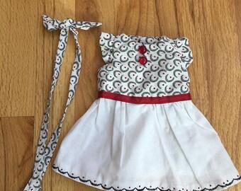 """12"""" Waldorf Doll dress"""