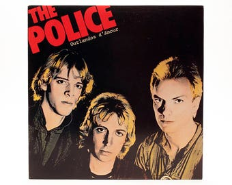 The Police - Outlandos d'Amour - Classic Punk/Alternative Album - Roxanne - So Lonely - Other Hits - Great Album In Excellent Condition!