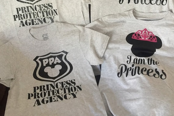 ON SALE Princess Protection Agency,Princess protection shirt,Kids shirt,Couples shirt,Disney shirt,PPA shirt,disney family,kids and couples