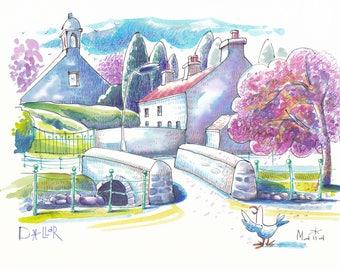 Spring in Scotland.