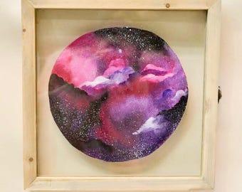 Pink & Purple Galaxy Clouds