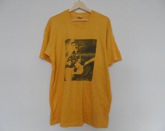 Vintage The Singing Bluesman t shirt Blues Jazz Large Size