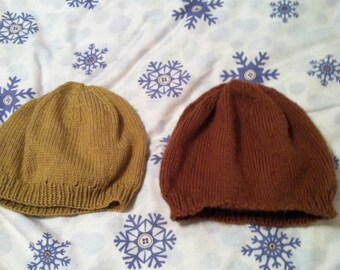Simple Beret in made-to-order colors