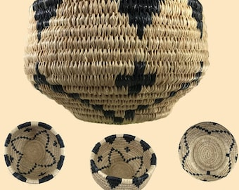 Traditional Coiled Basket Weaving Kit - makes one 4in.-6in. Basket, Expanded version (wckcoiledexp)