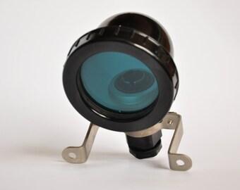 Vintage Lamp, Luminaires- Steampunk Supplies,Steampunk Lighting Supply, Mad Scientist, Geek, Mixed Media Art Supply,USSR lamp, Millitary