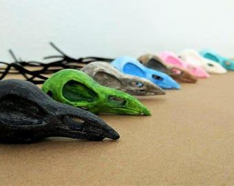 Bird Raven Skull Necklaces | Ravenclaw | Penguin