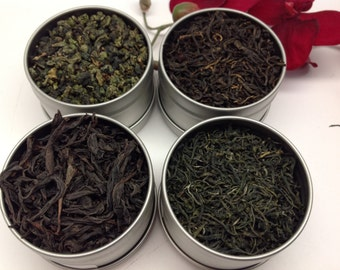 Chinese Tea Sampler 4 count