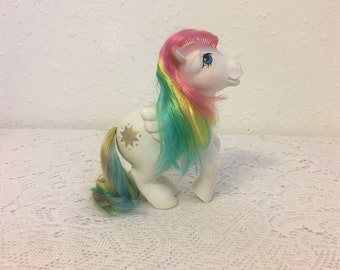 STARSHINE, Rainbow Ponies, Pegasus Pony, My Little Pony, vintage G1 My Little Pony, Friendship is Magic