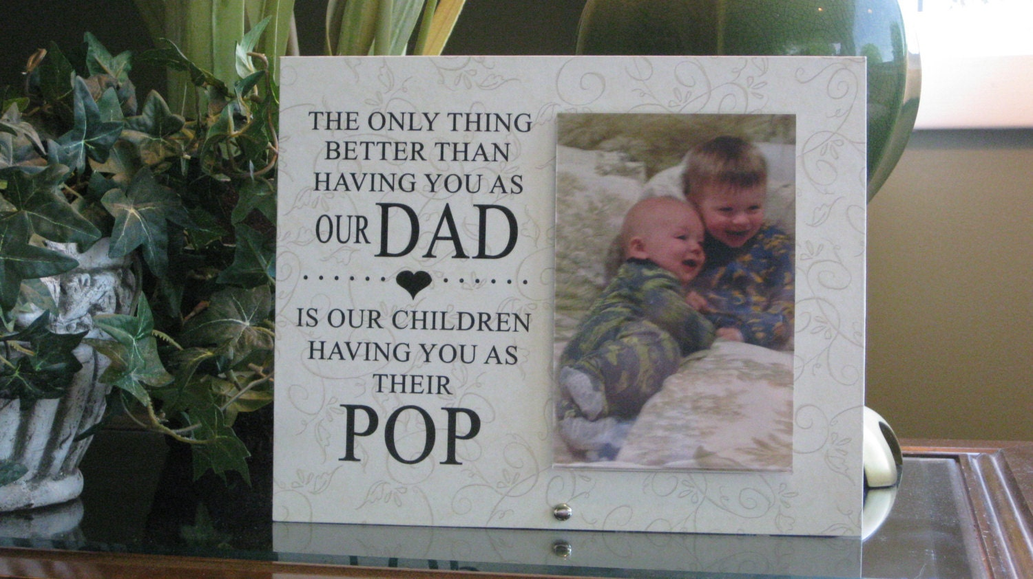 Pop Gift (SELECT ANY GRANDFATHER Name) Pop Frame, Pop Picture Frame ...