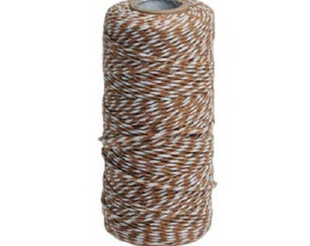 Roll of 90 m thick brown twine Baker