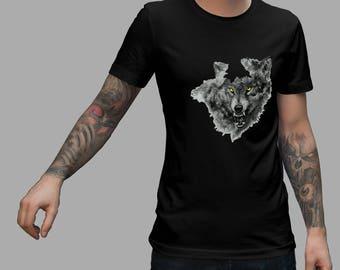 Grey Wolf Shirt #R