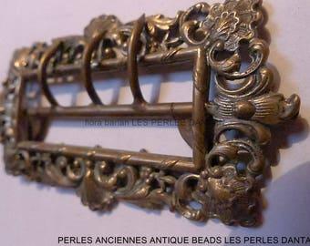 antique belt buckle art nouveau