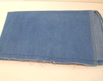 Light Blue Denim Home Decor Multi Purpose Fabric 1 Yard