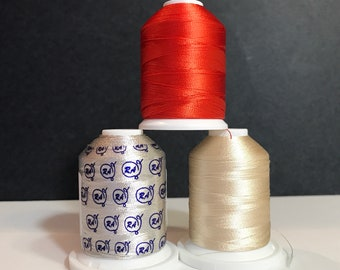Thread - Rayon Machine Embroidery Robison-Anton - Mini King  1000 yard Spools