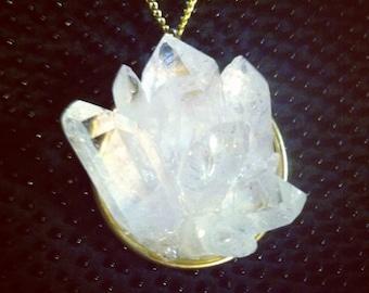 Clear Quartz Necklace