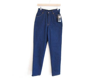 Deadstock, NWT 80's Levis: 50% of Proceeds go to Planned Parenthood! High-Waisted, Tapered Women's Jeans, Vintage S/M, New Old Stock Denim