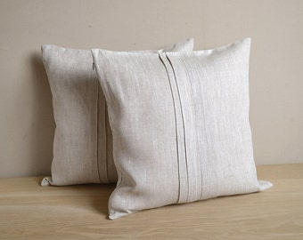 linen stephanie brown agnes handwoven pillow pillows seal