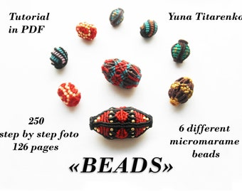 "Macrame tutorial ""Beads"""