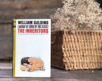 Vintage book classic, The Inheritors by Lord of the Flies author William Golding, paperback, CLEARANCE