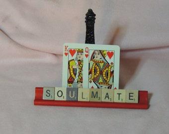 Scrabble Tile Valentine's Day Soulmate