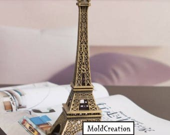 Silicone soap mold Eiffel Tower