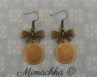 earrings retro non