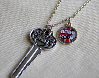 Sherlock Key Necklace