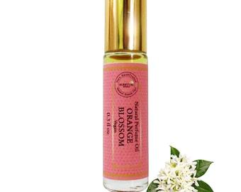 Organic Orange Blossom Perfume Oil, Organic Neroli Perfume Oil, Vegan Perfume, Natural Perfume Oil, Gift Idea