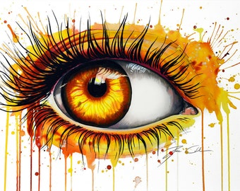 "Art Print ""The sun"""