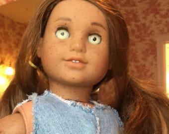 Custom ooak american girl doll marisol