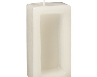 Candle blank mould Hand cast 100 x 50 mm