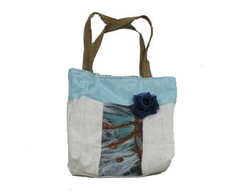 Hand Felted Tote Bag
