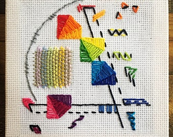 Abstract Needlepoint
