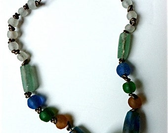 African Recycled Glass Necklace