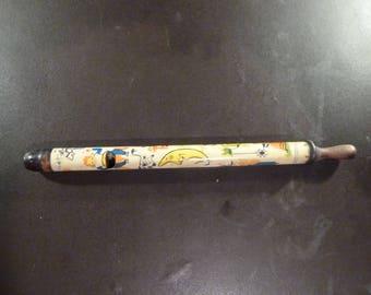 Vintage Kirchhof Tin Toy Whistle Litho Metal