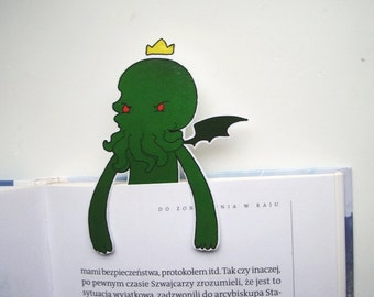Cthulhu bookmark - christmas hp lovecraft statue mask idol ornament