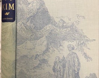 Kim by Rudyard Kipling, Illustrations by Robin Jacques, The Heritage Press, 1962