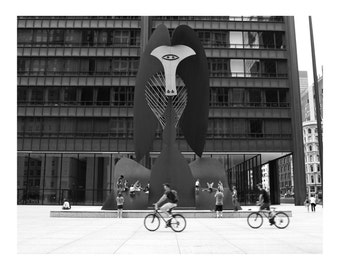 Chicago Picasso Sculpture Photo Print
