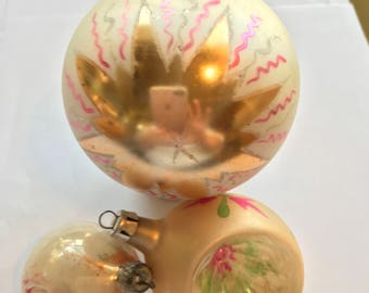 Vintage Ornaments, Christmas Tree Ornaments