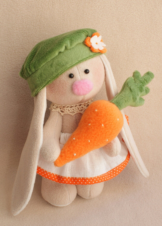 DIY Kit Kaninchen einfach zu tun Karotte Bunny Hase Tilda