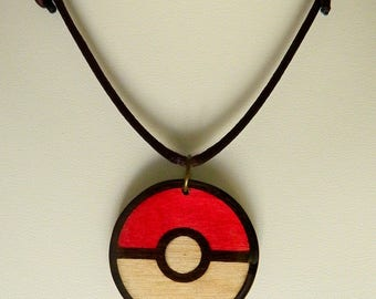 Pokemon go wooden necklace