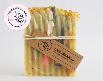 Lemongrass | Cold Process Soap Bar