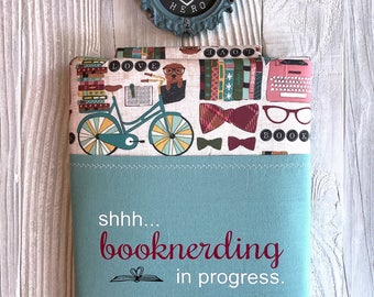BOOKNERDING book sleeve