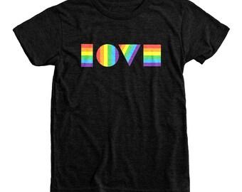 Ready to Ship Kids Pride Shirt | Rainbow LGBTQ Love Shirt | Youth T-Shirt | LGBT Shirt Kids | Kids Gay Pride Shirt | Love Is Love Shirt