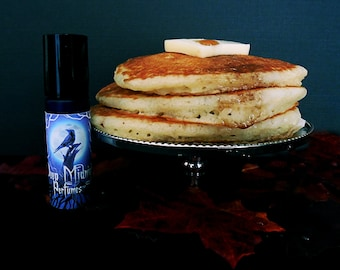 CAULDRON CAKES Perfume Oil - Pumpkins, Pancake Batter, Apple, Maple Syrup, Spices, Butter Rum - Halloween Perfume- Fall Fragrance
