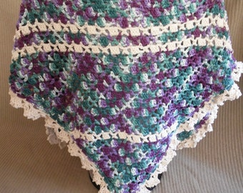Shawl, USA Grown Cotton, Crown Jewels