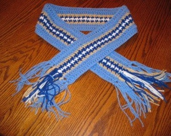 Blue scarf - small size