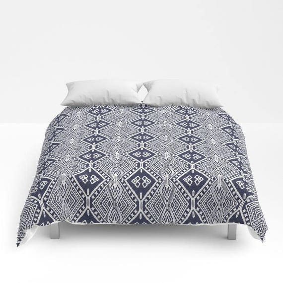 Bohemian Comforter Full Queen King Duvet Tribal Diamond