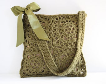 Crochet shoulderbag Olga