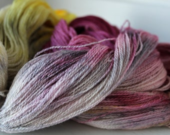Hand Dyed Variegated Merino Wool Lace Weight - Melody